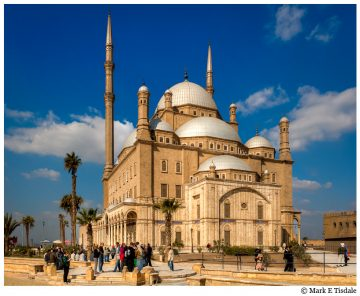 Picture of the Alabaster Mosque in Cairo - Mosque of Mohamed Ali Pasha
