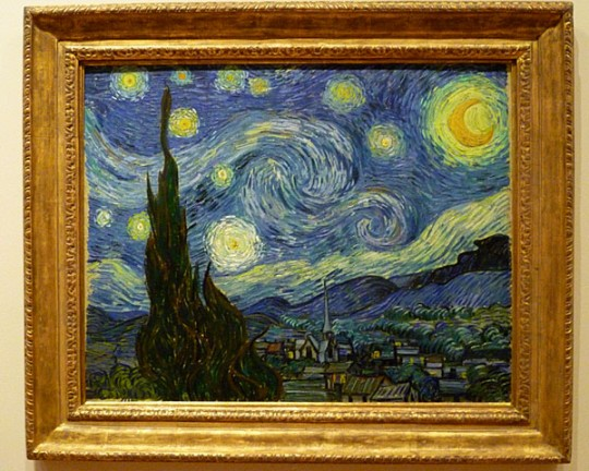 My photo of Van Gogh's Starry Night taken at MOMA