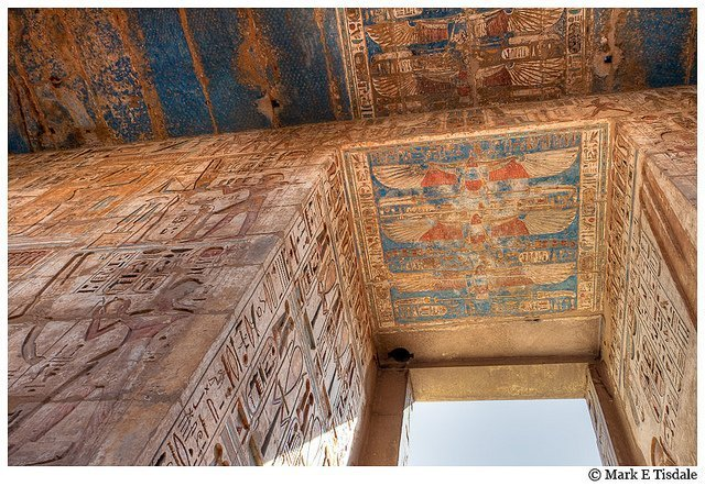 Photo from Medinet Habu - mortuary Temple of Ramses III