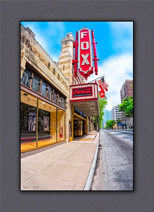 Fox Theater Canvas Print – Atlanta Peachtree Street