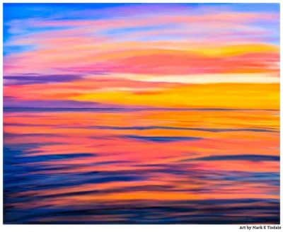 Sea of Cortez - Rocky Point Sunset art print by Mark Tisdale