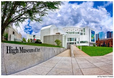 The High Museum - Atlanta Landmark Art Prints by Mark Tisdale