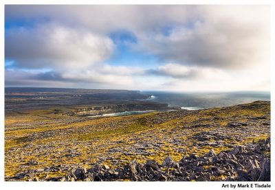 Art Print of an Arans Islands landscape - Inis Mór