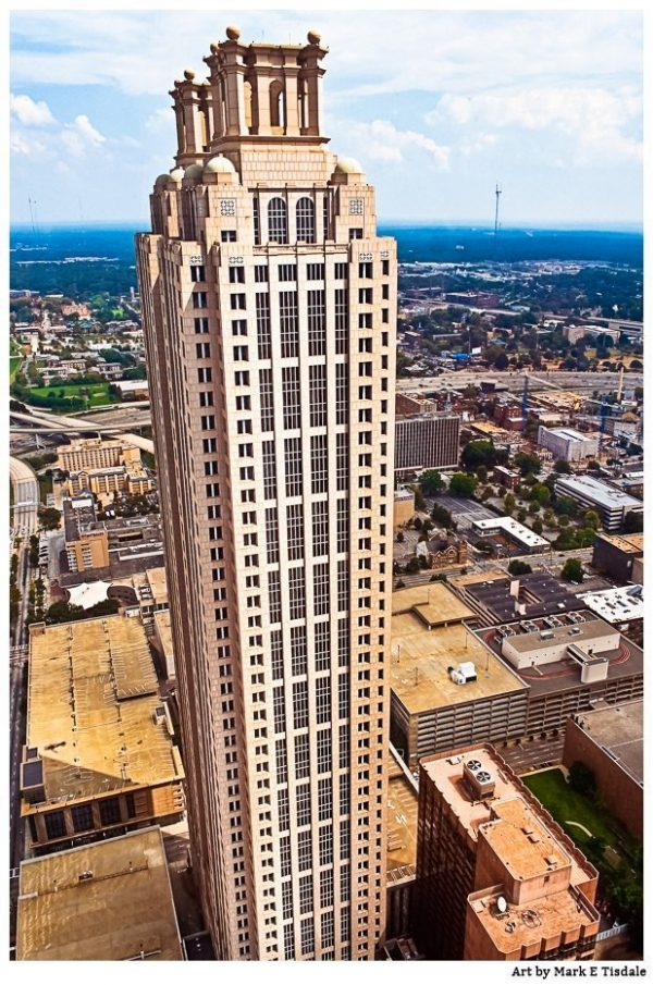 Art Print of 191 Peachtree Tower - Atlanta Architecture art