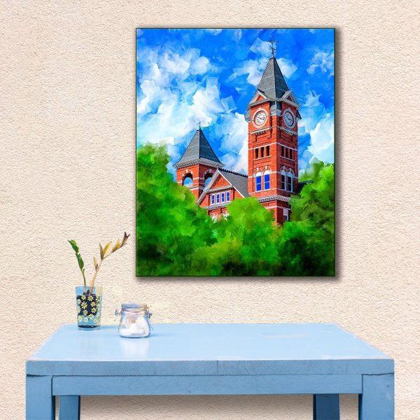 Classic Auburn University - Samford Hall Canvas Print