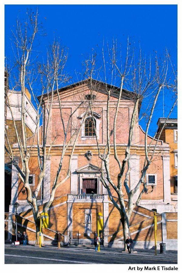 Capuchin Church In Rome - Santa Maria della Concezione dei Cappuccini Print by Mark Tisdale