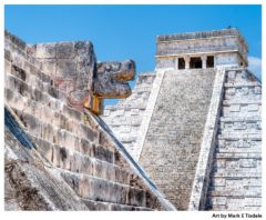 Chichen Itza ruins print by Mark Tisdale