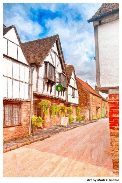 English Village - Lacock Wiltshire - The Cotswolds - Classic England Print by Mark Tisdale