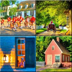 Colonial Williamsburg Print Collection by artist Mark Tisdale