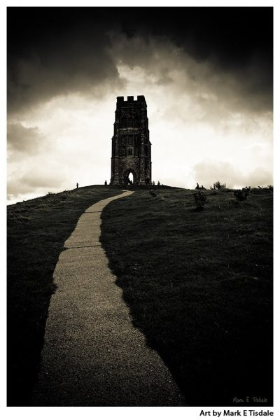 Glastonbury Tor Print by Mark Tisdale - Southern England