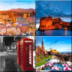 Edinburgh Art Prints Collection by Mark Tisdale