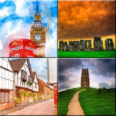 Prints Of England by artist Mark Tisdale