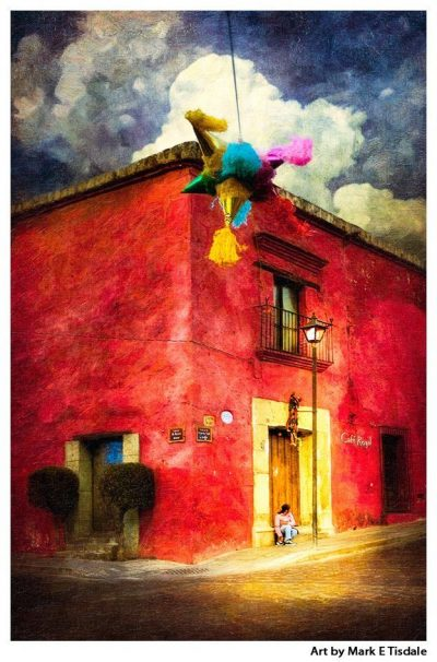 Festive Mexico Art Print by Mark Tisdale