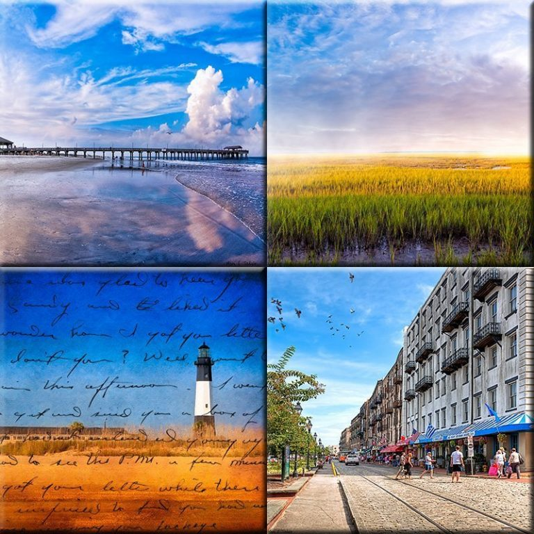 Georgia Coast Print Collection by Artist Mark Tisdale
