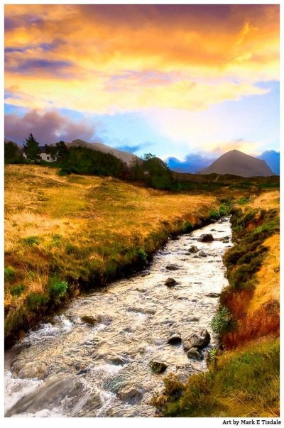 Highland Morning on the Isle of Skye - Scottish Highland Landscape by Mark Tisdale
