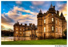 Historic Holyrood Palace - Edinburgh Scotland Print by Mark Tisdale