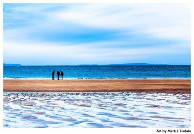 Irish Beach on a Winter Afternoon - Irish Landscape Print by Mark Tisdale
