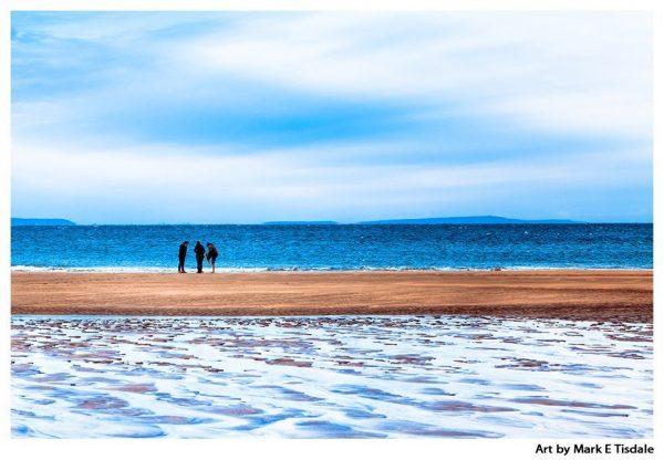 Irish Beach on a Winter Afternoon - Irish Landscape Print by Mark Tisdale
