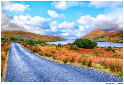 Irish Landscapes - Classic Connemara Print by Mark Tisdale