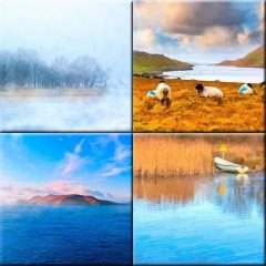 Irish Landscape Prints Collection by artist Mark Tisdale