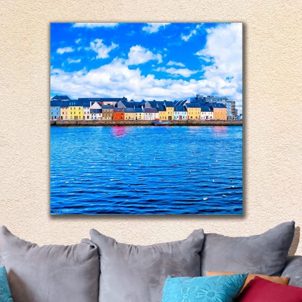 Irish Seaside - Galway Canvas Print