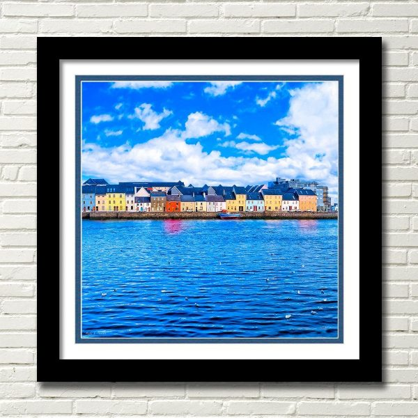 Irish Seaside - Galway Framed Wall Art