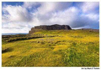 Iron Age Ruins of Dun Aengus off the Irish West Coast - Print by Mark Tisdale