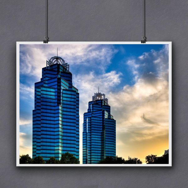 King And Queen Towers Print For Framing