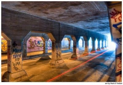 Atlanta's Krog Street Tunnel - Underground Art Print by Georgia artist Mark Tisdale