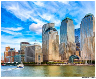 World Financial Center Print by Mark Tisdale