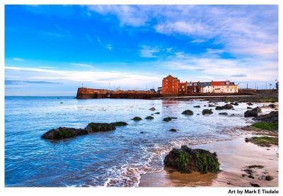 North Berwick Harbor Print by Mark Tisdale - Scottish Coast near Edinburgh