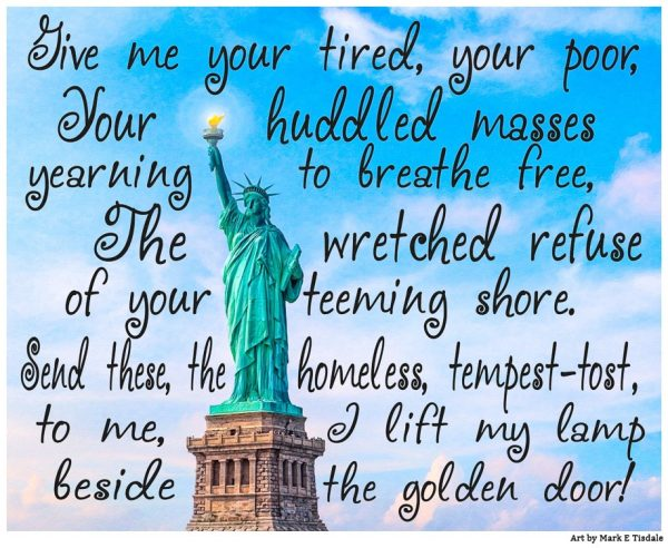 Statue of Liberty in New York Harbor - Inspirational Print by Mark Tisdale