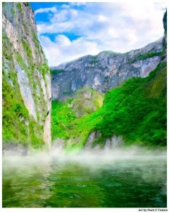 Sumidero Canyon - Scenic Mexican Landscape Art Print by Mark Tisdale