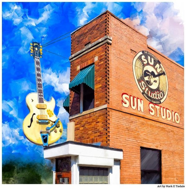 Sun Studio - Memphis Tennessee Art Print by Mark Tisdale