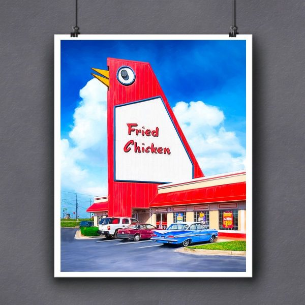 The Big Chicken Fine Art Print For Framing
