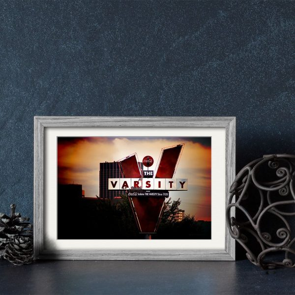 The Varsity Framed Prints - Landmark Atlanta Art