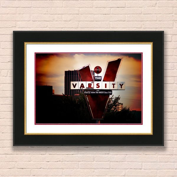 Framed Wall Art of The Varsity