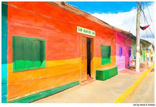Tropical Colors of Nicaragua - Vivid San Juan del Sur Print by Mark Tisdale