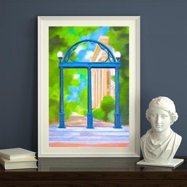 University of Georgia Framed Prints of The Arch by Georgia Artist Mark Tisdale