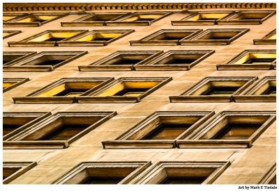 Manhattan Windows - New York City Architecture Art Print by Mark Tisdale