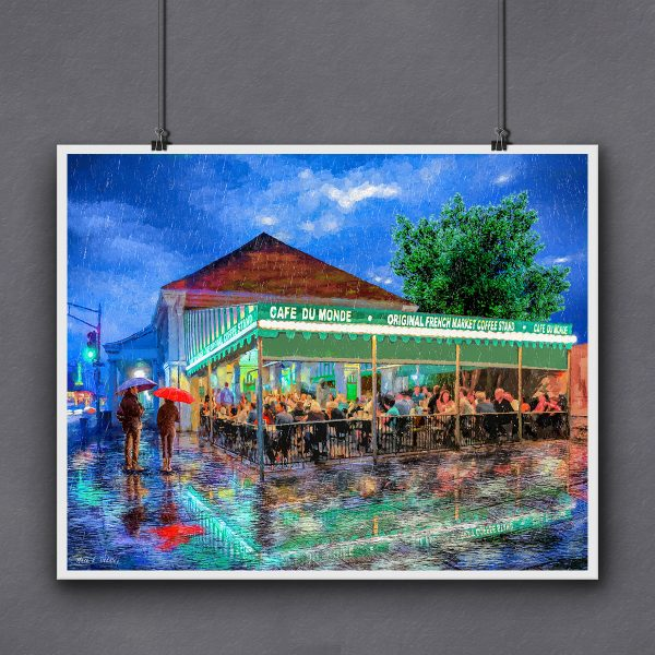 Cafe du Monde Print For Framing